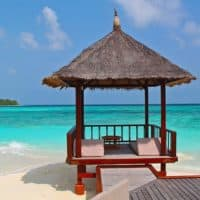 Maldivesbeachhut